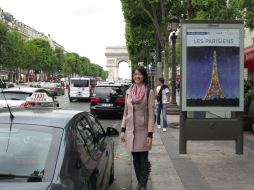 Arc de Triomphe/Champs Elysees (Paris)