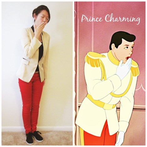 Bored Prince Charming at the ball