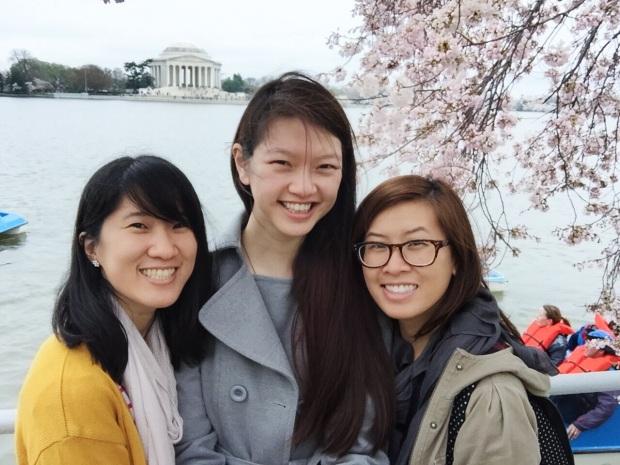 Photo credit: Christine on Karen's selfie stick!