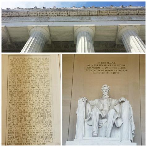 Gettysburg Address on the wall