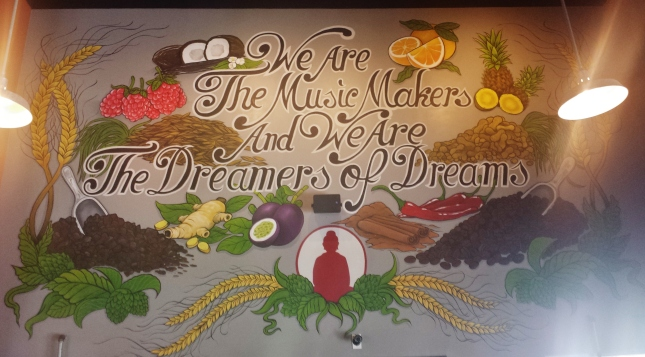 """""""We are the music makers and we are the dreamers of dreams"""""""