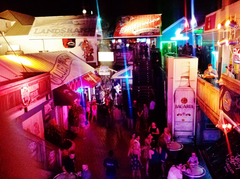 Night life on Duval Street