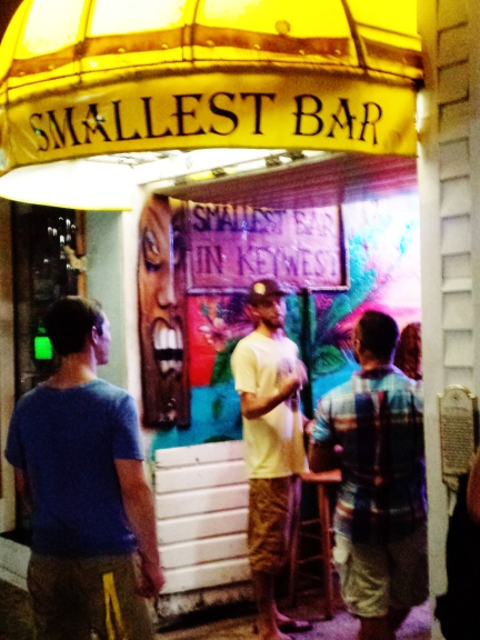 """Smallest Bar in Key West"""