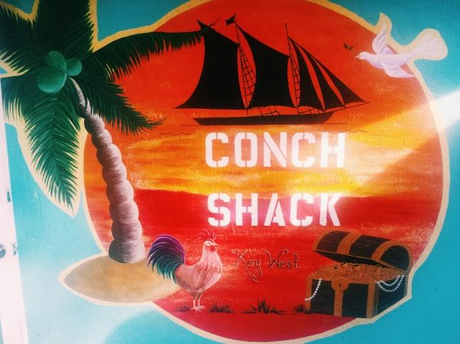 Sign denoting Conch Shack