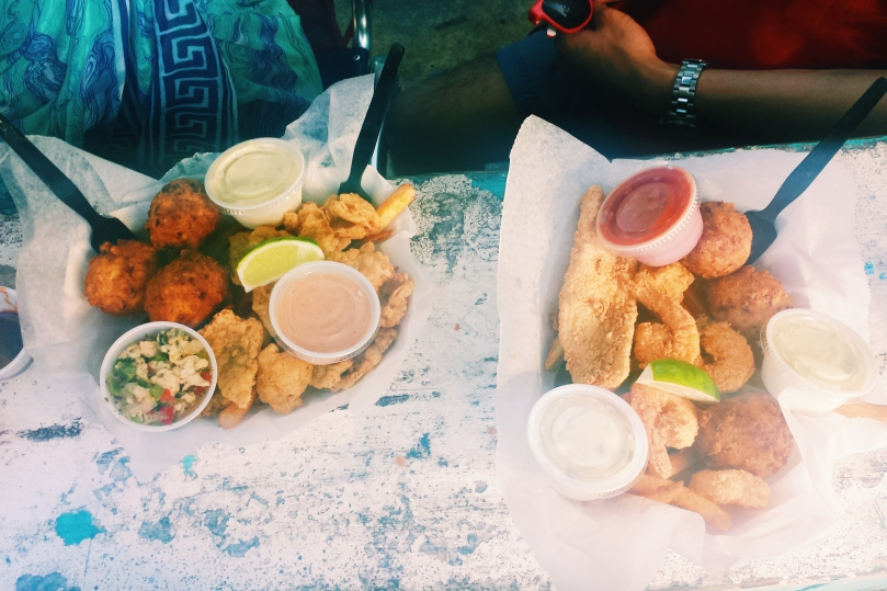 Food from Conch Shack