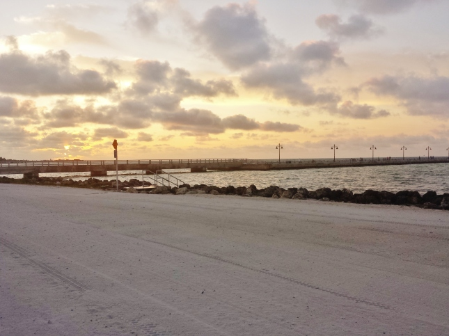 Sunrise on the beach