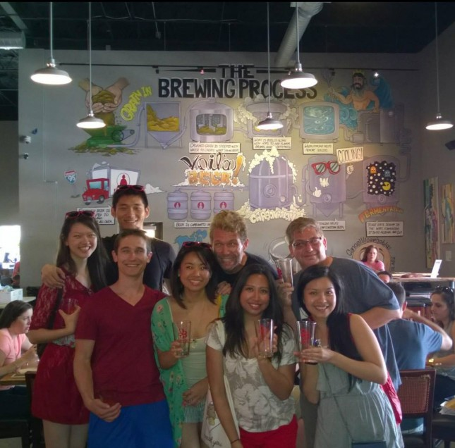Our new Yelp friends!