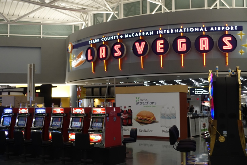 The [in]famous airport slot machines