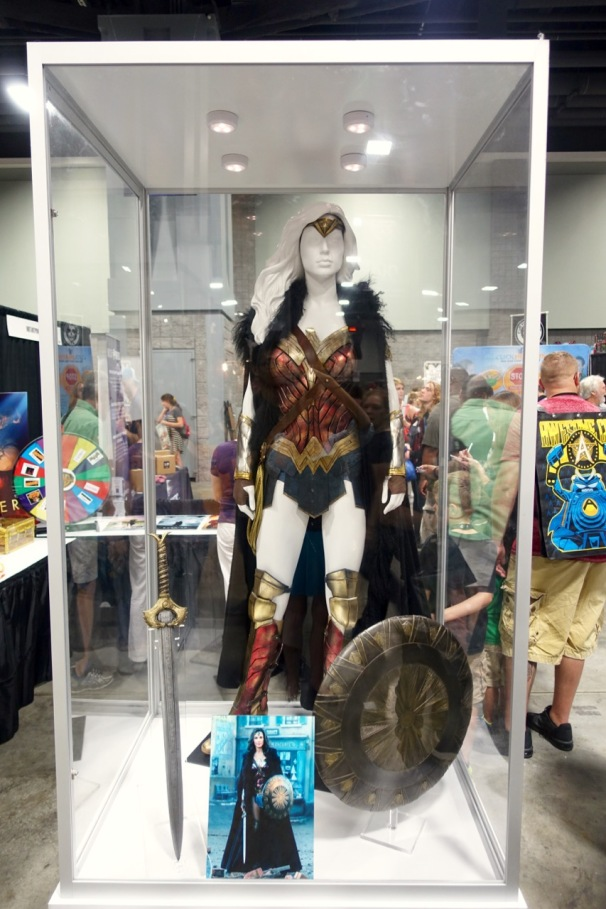Wonder Woman costume from the feature film