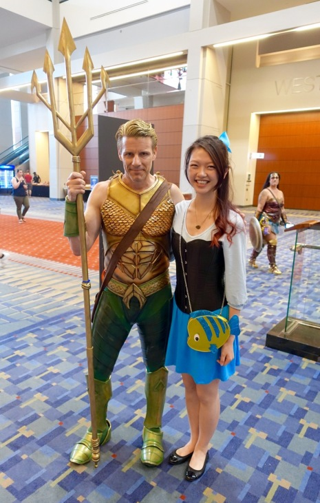 Aquaman and Ariel