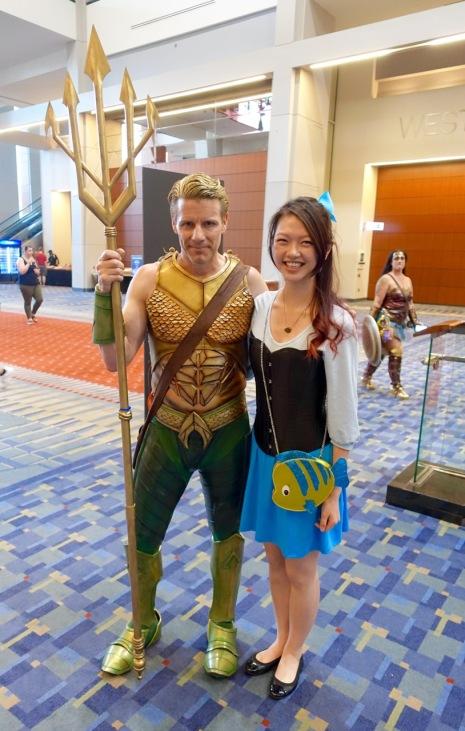 Aquaman and Ariel