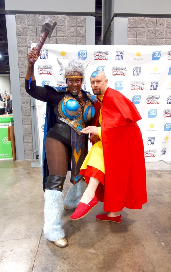 Thor and Avatar Aang
