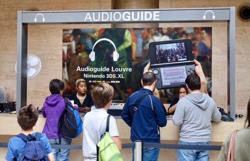 Nintendo Audioguide