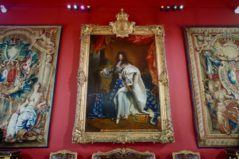 Portrait of Louis XIV in Coronation Robes